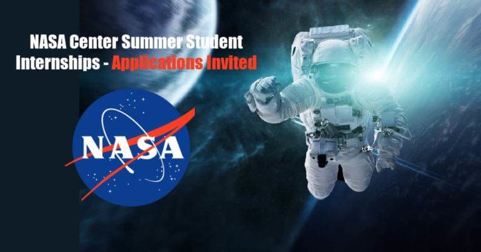 NASA Center Summer Student