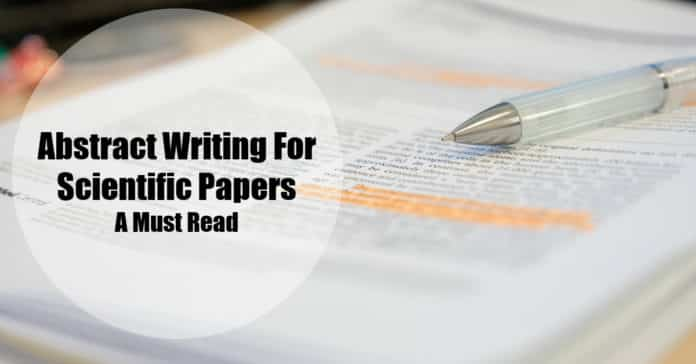 Abstract Writing For Scientific Papers